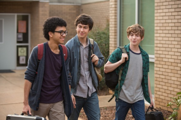 Best buds: Radar (Justice Smith), Quentin (Nat Wolff), Ben (Austin Abrams)