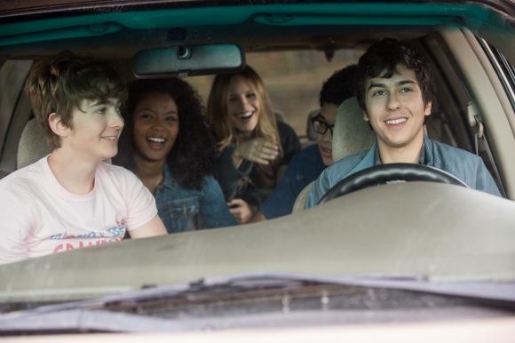 Ben (Austin Abrams), Angela (Jaz Sinclair), Lacey (Halston Sage), Radar (Justice Smith), Quentin (Nat Wolff)
