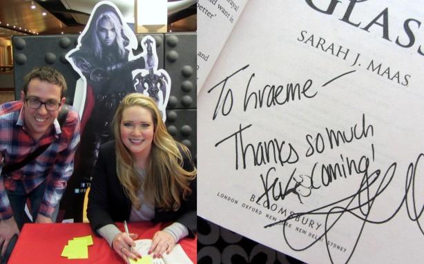 Book signing & photo session with Sarah J. Maas