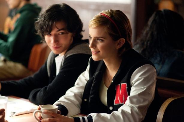 Patrick (Ezra Miller) and Sam (Emma Watson)