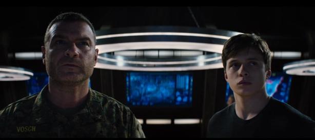 Colonel Vosch (Liev Schreiber) and Ben (Nick Robinson)